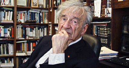 Elie Wiesel, Nobel Peace Prize winner and Holocaust victims advocate